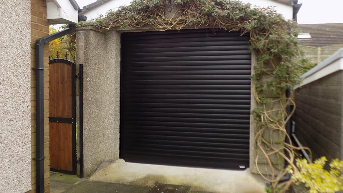 SeceuroGlide Garage Door After Installation