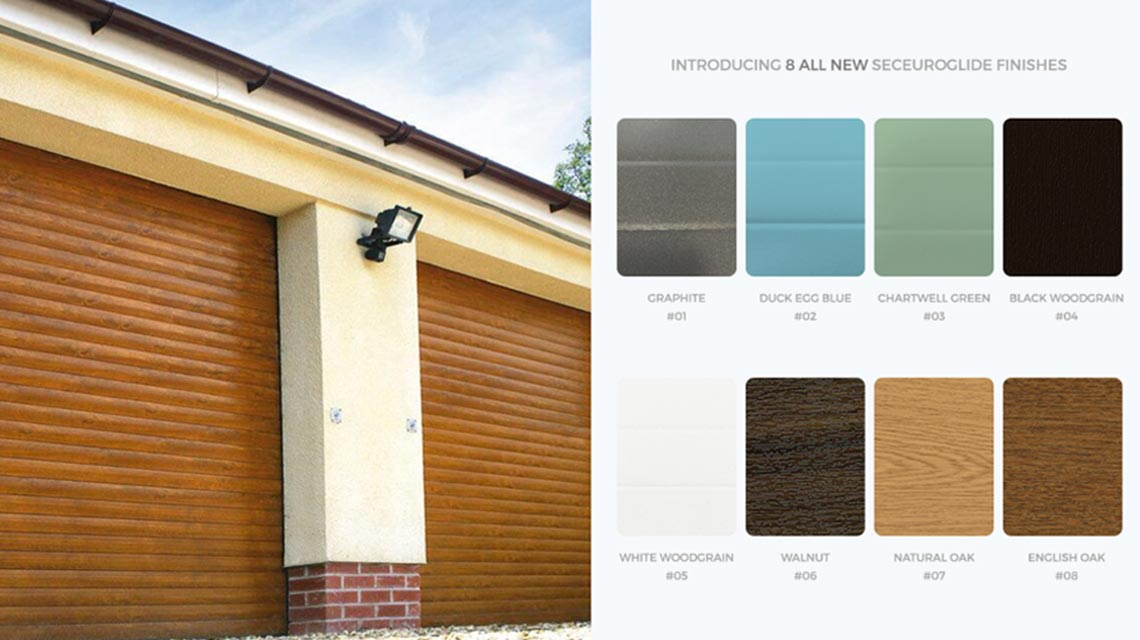 SeceuroGlide New Colour Finishes