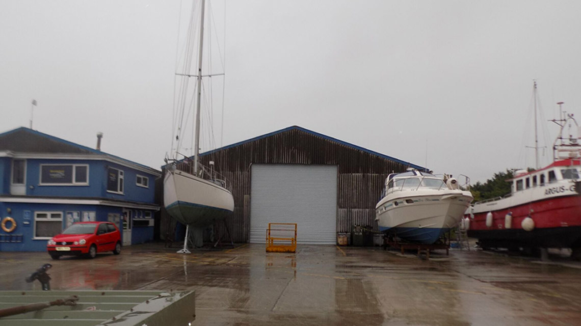 Glasson Dock Installation After