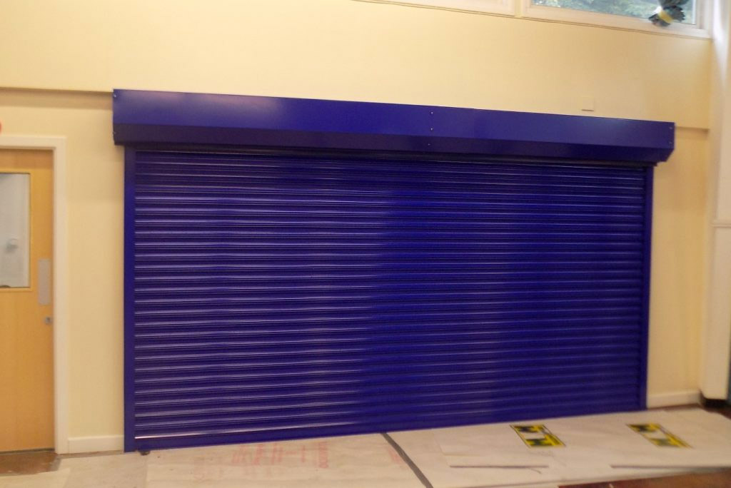 Fire Shutter Installation