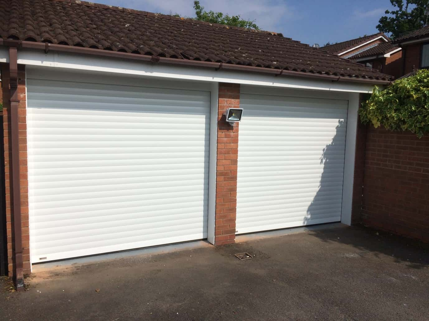 SeceuroGlide garage doors installation